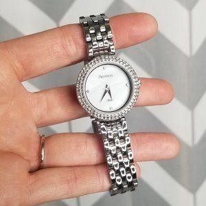 ARMITROM NOW rhinestone chain watch